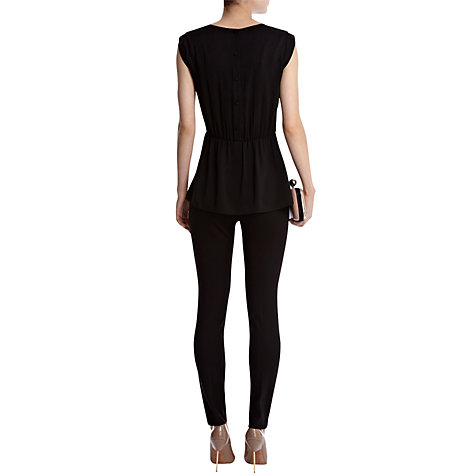 Buy Coast Galicia Embellised Top, Black Online at johnlewis.com