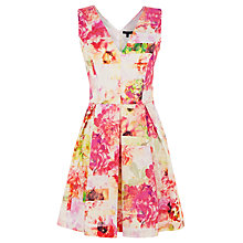 Buy Warehouse Botanical Print Dress, Multi Online at johnlewis.com