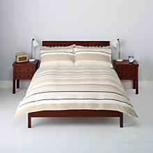 Buy John Lewis Polo Stripe Duvet Cover and Pillowcase Set Online at johnlewis.com