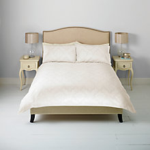 Buy John Lewis English Damask Jacquard Duvet Cover and Pillowcase Set Online at johnlewis.com