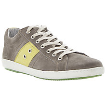Buy Dune Topple Suede Side Stripe Trainers, Grey Online at johnlewis.com