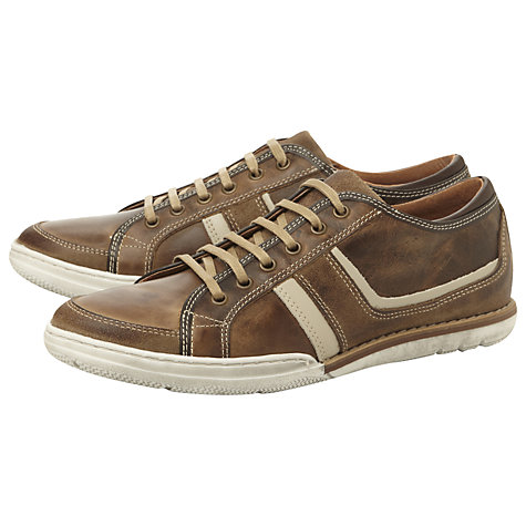 Buy Dune Toffee Apple Trainers, Brown Online at johnlewis.com