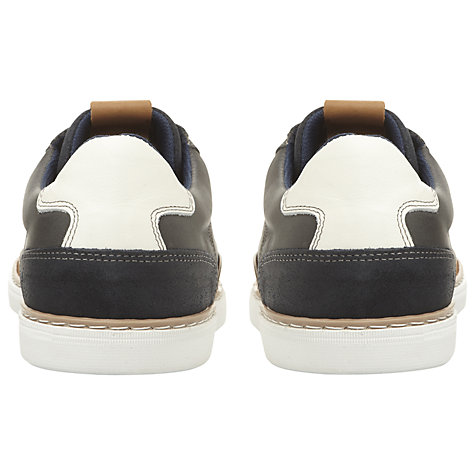 Buy Dune Tailored Contrast Stitch Trainers Online at johnlewis.com