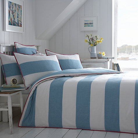 Buy Seasalt Cornish Stripe Bedding Online at johnlewis.com