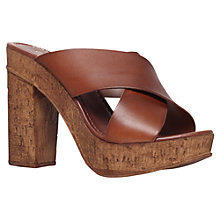Buy Carvela Knit Leather Sandals Online at johnlewis.com