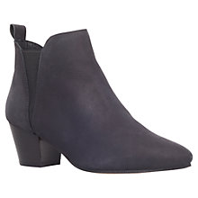 Buy KG by Kurt Geiger Saffron Ankle Boots, Black Online at johnlewis.com