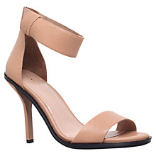 Buy KG by Kurt Geiger Jade Leather Sandals Online at johnlewis.com