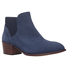 Buy KG by Kurt Geiger Sport Ankle Boots, Navy Online at johnlewis.com