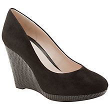 Buy Clarks Comet Trail Court Shoes, Black Online at johnlewis.com