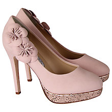 Buy Hassall for Rainbow Cupcake Leather Court Heels, Rose Pink Online at johnlewis.com