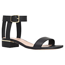 Buy Carvela Kandle Block Heeled Leather Sandals Online at johnlewis.com