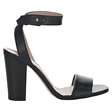 Buy Jigsaw Mia Leather Sandals Online at johnlewis.com