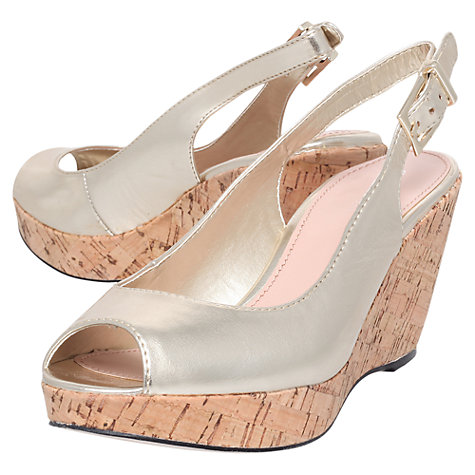 Buy Carvela Klix Wedge Heeled Sandals Online at johnlewis.com