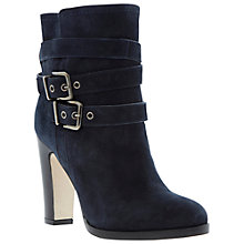 Buy Dune Black Panto Suede Heeled Calf Boots Online at johnlewis.com