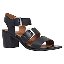 Buy Carvela Kommand Block Heeled Leather Sandals Online at johnlewis.com