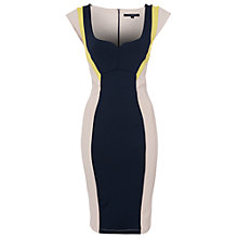 Buy French Connection Monroe Stretch Dress, Multi Online at johnlewis.com