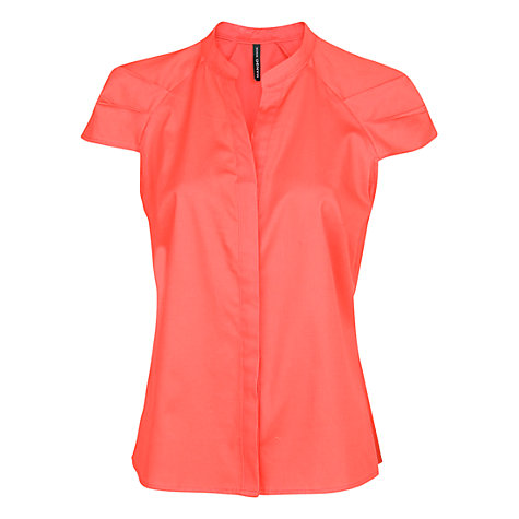 Buy Mango Tailored Cotton Shirt Online at johnlewis.com