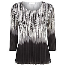 Buy Windsmoor Pleated Top, Grey Online at johnlewis.com