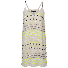 Buy French Connection Geo Flash Sequin Dress, Techno Valley Online at johnlewis.com