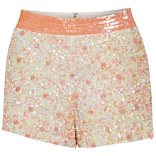 Buy French Connection Sweet Mix Shorts, Winter White/Sweet Mix Online at johnlewis.com