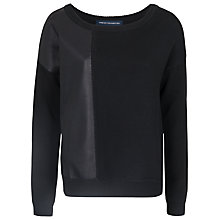 Buy French Connection Stevie Knit Jumper, Black Online at johnlewis.com