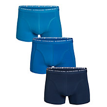 Buy Bjorn Borg Basic Seasonal Trunks, Pack of 3, Aquarius Online at johnlewis.com