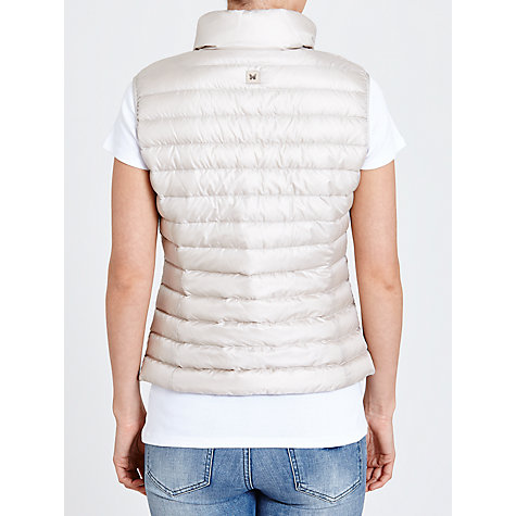 Buy Weekend by MaxMara Frizzo Padded Gilet, Beige Online at johnlewis.com