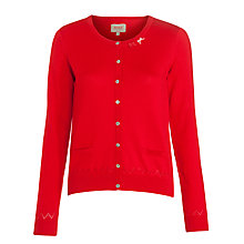 Buy Avoca Cardigan, Red Online at johnlewis.com
