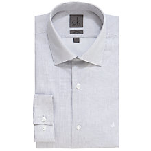 Buy CK Calvin Klein Mini Dot Easy Iron Long Sleeve Shirt, Grey Online at johnlewis.com