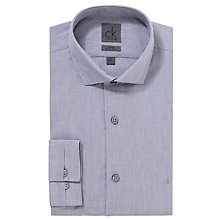 Buy CK Calvin Klein Semi Plain Long Sleeve Shirt Online at johnlewis.com