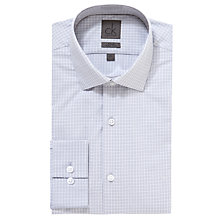 Buy CK Calvin Klein Large Check Long Sleeve Shirt, Pearl Grey Online at johnlewis.com