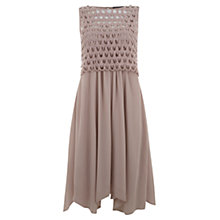 Buy Mint Velvet Lace Top Dress Online at johnlewis.com