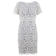 Buy Mint Velvet Double Layer Lace Dress Online at johnlewis.com