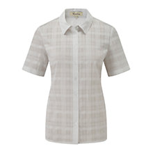 Buy Viyella Checked Shirt, White Online at johnlewis.com