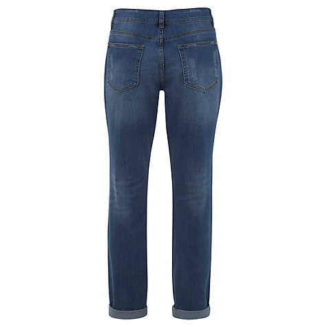 Buy Mint Velvet Boyfriend Jeans, Indigo Online at johnlewis.com