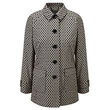 Buy Viyella Printed Mac, Navy/Stone Online at johnlewis.com