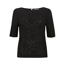 Buy Mint Velvet Embroidered Front Top Online at johnlewis.com