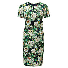 Buy Viyella Petite Rose Printed Dress, Navy Online at johnlewis.com