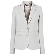 Buy L.K. Bennett Stretch Handa Jacket, Light Grey Online at johnlewis.com