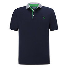 Buy Polo Golf by Ralph Lauren Striped Collar Polo Shirt Online at johnlewis.com