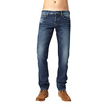 Buy Pepe Jeans Cane Slim Jeans, Washed Blue Online at johnlewis.com