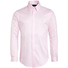Buy Polo Golf by Ralph Lauren Striped Cotton Shirt Online at johnlewis.com