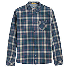Buy Pepe Jeans Large Check Shirt, Indigo Check Online at johnlewis.com