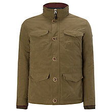 Buy Armani Jeans 4 Pocket Fill Jacket, Khaki Online at johnlewis.com