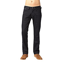 Buy Pepe Jeans Heston Straight Jeans, City Black Online at johnlewis.com