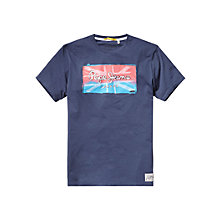 Buy Pepe Jeans Union Flag T-Shirt Online at johnlewis.com