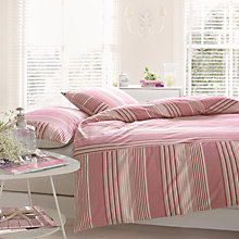 Buy Good Housekeeping Maritime Striped Duvet Cover and Pillowcase Set Online at johnlewis.com