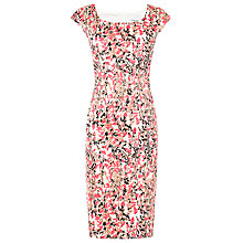 Buy L.K. Bennett Printed Valdez Dress, Pink Floral Online at johnlewis.com