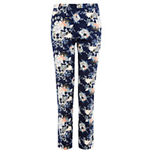Buy Oasis Oriental Trouser, Multi Blue Online at johnlewis.com