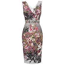 Buy Phase Eight Roma Blossom Print Dress, Multi-coloured Online at johnlewis.com
